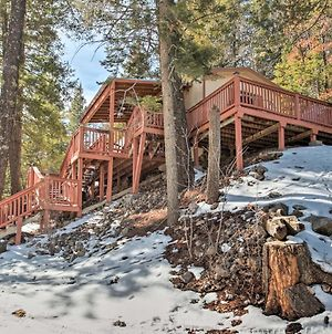 Rustic Cloudcroft Cabin With Deck-Near Skiing And Fishing! photos Exterior