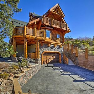 Big Bear House With Hot Tub And View Of Bear Mountain! photos Exterior
