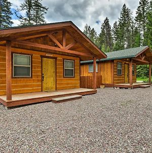 Hungry Horse Cabin With Patio & Fire Pit-Near Glacier photos Exterior