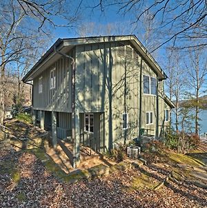 Lakefront Harrison Home With Sunroom, Deck, & Dock! photos Exterior