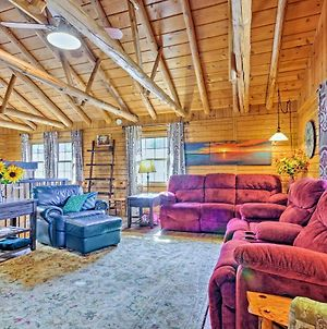 Expansive Branson Cabin With Lake View 3 Mi To Sdc! photos Exterior