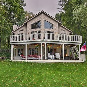 South Haven Lake House With Deck, Views And Boat Dock! photos Exterior