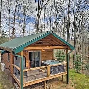 Superb Bryson City Studio Cabin With Hot Tub And Patio! photos Exterior