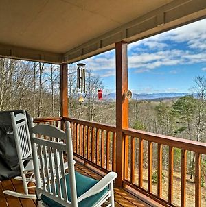 Hayesville Home With Mtn Views, Deck Grill & Fire Pit photos Exterior