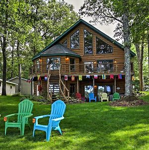 Lakefront Branch Township House With Dock & Hot Tub! photos Exterior