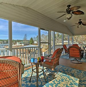 Waterfront Lake Martin Home With Porch And Boathouse! photos Exterior