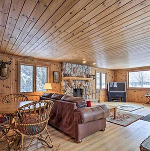 Lakefront Escape With Fishing Pier & Snowmobiling! photos Exterior
