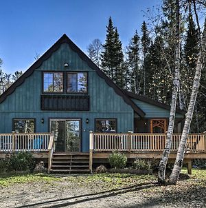 Charming Lake Placid Chalet With Deck & Fireplace! photos Exterior
