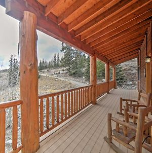 Rustic Alma Cabin On 2 Acres Hot Tub And Mtn Views! photos Exterior