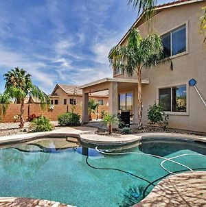 Queen Creek Retreat With Pool, Fire Pit And Mtn Views! photos Exterior
