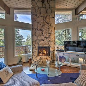 Lake Arrowhead Cabin With Deck And Scenic Forest Views photos Exterior