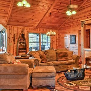Rustic Cabin With Hot Tub 2 Mi To Unicoi State Park photos Exterior