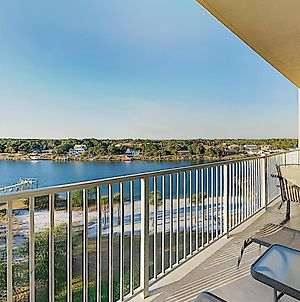 New Listing! Waterfront Retreat W/ Pool & Dock Condo photos Exterior