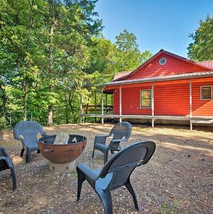 Broken Bow Cabin With Deck On Mountain Fork River! photos Exterior