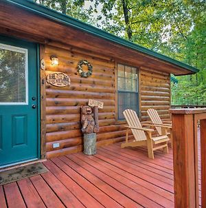 Serene Broken Bow Cabin With Hot Tub & Fire Pit photos Exterior