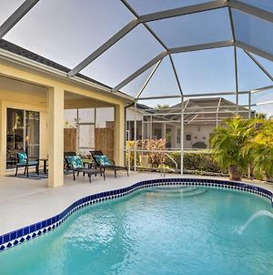 Port Charlotte Home On Canal With Lanai And Pool! photos Exterior