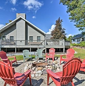 Roscommon Home With Deck, 7 Mi To Higgins Lake! photos Exterior