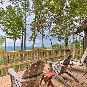 Cozy Smoky Mtn Cabin - Views, Deck And Fire Pit! photos Exterior
