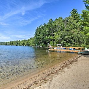Panther Pond Cabin With 200 Ft Sand Beach And Dock photos Exterior