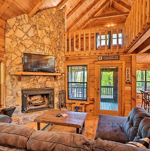 Upscale Cabin With Hot Tub - 4 Mi To Blue Ridge photos Exterior