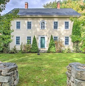 Wells Colonial Home Set On 9 Acres With Deck photos Exterior