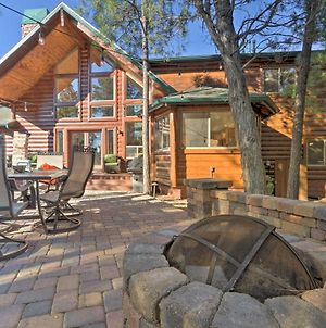 Show Low Cabin With Fire Pit, Game Room And Bbq! photos Exterior