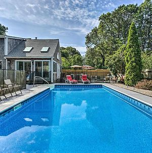Mashpee Home With Pool And Game Room photos Exterior