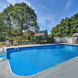 Mashpee House With Pool, Fire Pit And Furnished Patio! photos Exterior