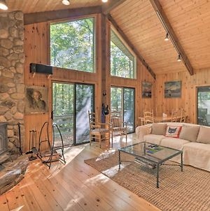 Cabin With 3 Acres, Tennis And Bball Courts By 4 Ski Mtns photos Exterior