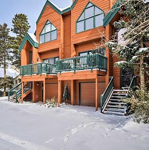 Glorious Breckenridge Townhome With Private Patio photos Exterior
