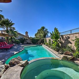 La Quinta Home With Saltwater Pool, Hot Tub And Yard! photos Exterior