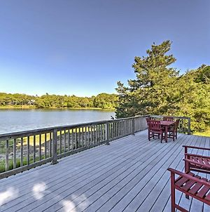 Bourne House W/ Furnished Deck & Waterfront Views! photos Exterior