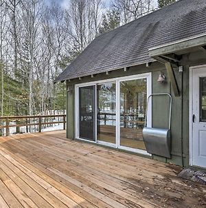 Waterfront Snipe Lake Home With Deck & Fire Pit photos Exterior
