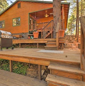 Rustic Cabin With Deck About 4 Mi To Old Town Flagstaff! photos Exterior