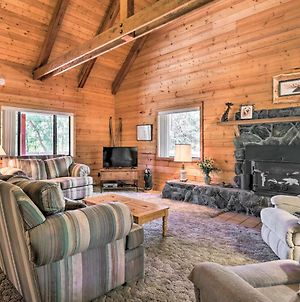 Pet-Friendly Cabin With Bbq - 7 Mi To Show Low Lake! photos Exterior