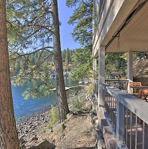 Waterfront Lake Studio With Deck And Beach Access! photos Exterior