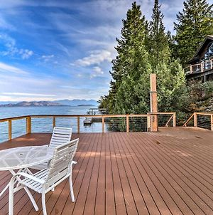 Serene Escape On Flathead Lake With Boat Dock! photos Exterior