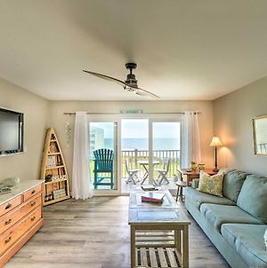 Airy Oceanfront Condo With Beach Views And Pool Access! photos Exterior
