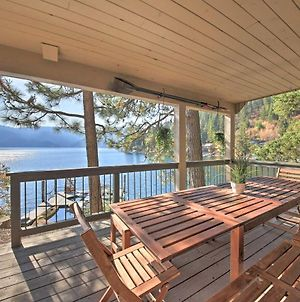 Waterfront Lake Studio With Deck & Beach Access! photos Exterior