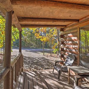 Broken Bow Cabin With Hot Tub And Bbq - 4 Mi To Lake! photos Exterior