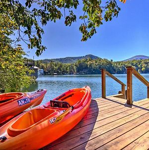 Quiet Lake Lure Cottage With Boathouse, Sunroom&Decks photos Exterior