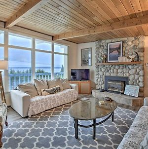 Puget Sound Home With Private Beach Access And Deck photos Exterior
