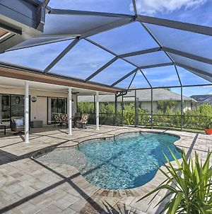 Canalfront Cape Coral Retreat - Private Dock & Pool photos Exterior