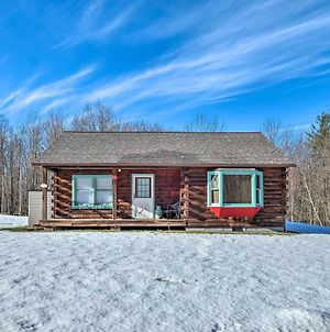 High Peak Heaven Cozy Log Cabin On 1 Acre! photos Exterior