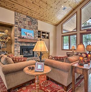 Show Low Luxury Cabin With Forest Views And Fire Pit! photos Exterior