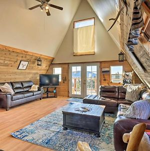 Cabin With 360 Mountain Views And 30 Miles To Breck! photos Exterior