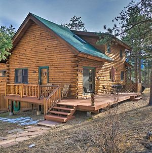 Picturesque Log Cabin In Estes Park: 9 Mi. To Rmnp photos Exterior
