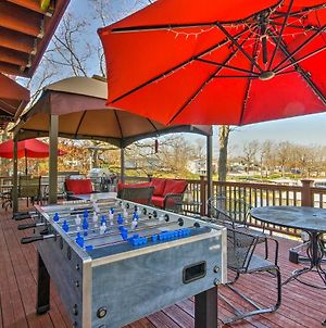 Home With Deck, And Dock On Lake Of The Ozarks! photos Exterior