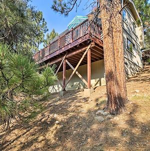 Big Bear Cabin With Large Deck, 2 Miles To Bear Mtn! photos Exterior