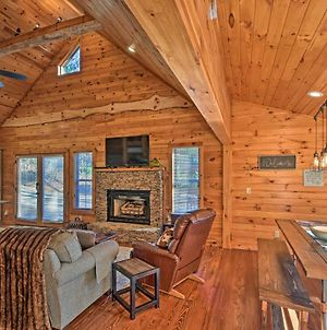 Blue Ridge Mtns Creekside Cabin With Hot Tub & Pier! photos Exterior